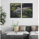 Old Train Bridge - Two Piece Poster