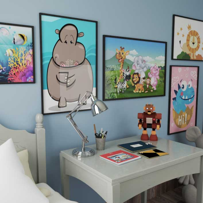 Kids rooms posters
