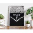 Tesla - Cool Car Poster