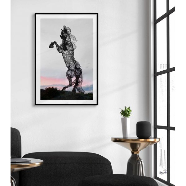 Horse - Simple poster