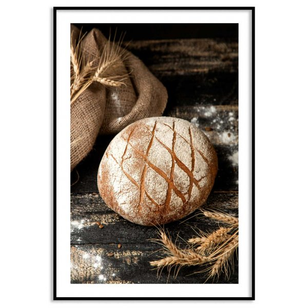 Bread - Simple kitchen poster