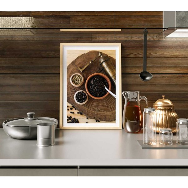 Coffee grinder - Kitchen poster