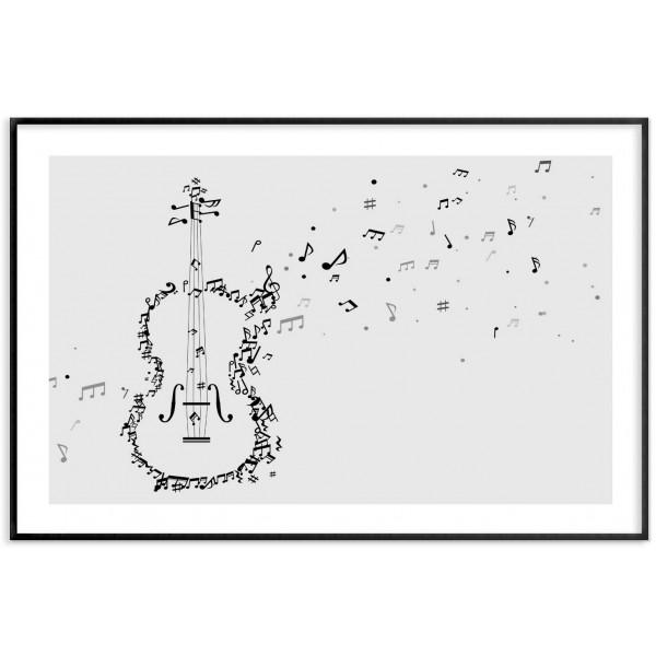 Violin - Simple music poster