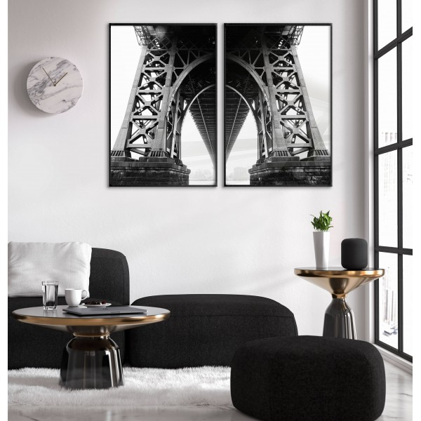 Old Bridge - Two Piece Poster