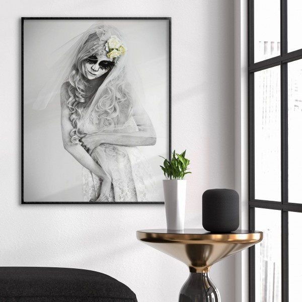 Mystical Sugerskull Woman - Fashion Poster