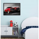 Red Dodge - Cool Car Poster