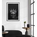 Skull crown poster