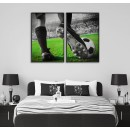 Soccer & stadium - Cool sports poster