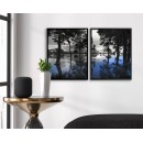 Mystical nature & forest - Two piece poster