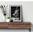 Abstract woman - Simple fashion poster