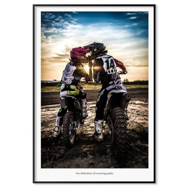 Motocross - Love sports poster