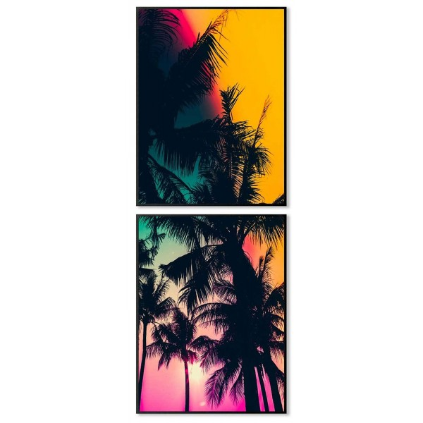 Exotic nature - Two piece poster