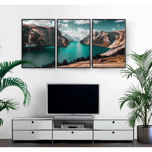 Magical nature - Three piece poster