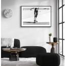 Retro roller skates - Fashionable sports poster
