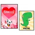 Personal kids posters