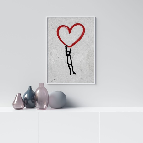 Heart in the Breaking - Simple Poster