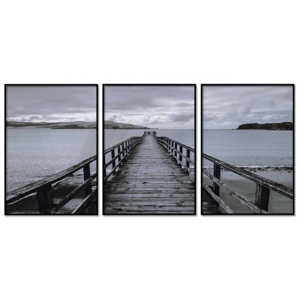 Lake Image - Three Piece Poster