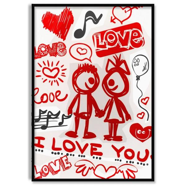 Love Love Love - Poster