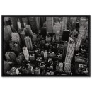 New York Skyscrapers - Big Black and White Poster