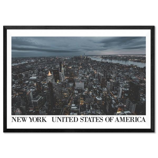 New York Skyscrapers - Big Classic Poster