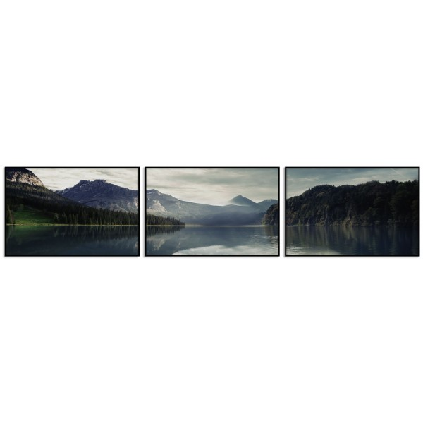 Perfect Nature - Poster in Three Pieces